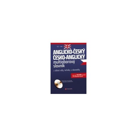 Anglicko-český; Česko-anglický multioborový slovník z oblasti vědy, techniky a ekonomiky + CD CP Books 9788025132593