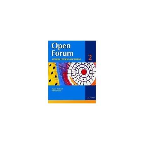 Open Forum 2 Student Book