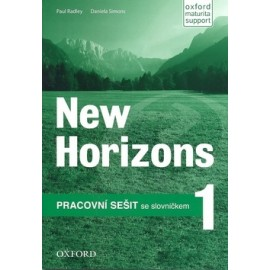 New Horizons 1 Workbook Czech Edition