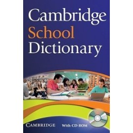 Cambridge School Dictionary + CD-ROM