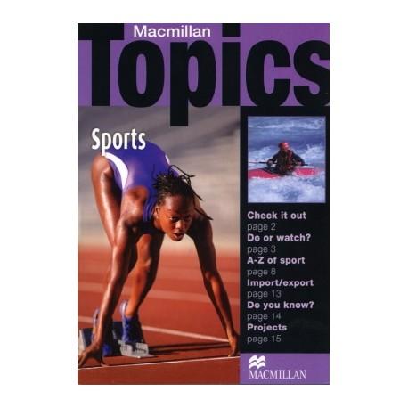 Macmillan Topics: Sports Macmillan Publishers 9781405094931