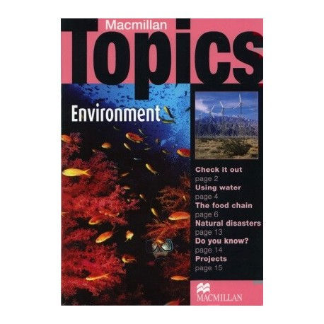 Macmillan Topics: Environment Macmillan Publishers 9781405094948