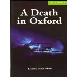 Cambridge Readers: A Death in Oxford + audio download