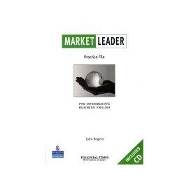 Market Leader Pre-intermediate Practice File Pack (Book + Audio CD)