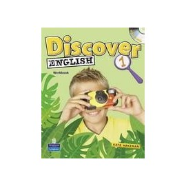 Discover English 1 Activity Book CZ + CD-ROM