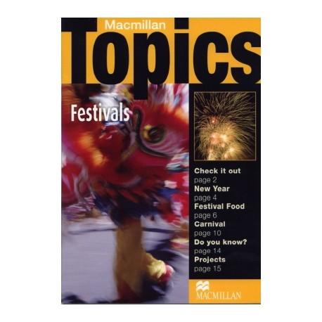 Macmillan Topics: Festivals Macmillan Publishers 9781405094955