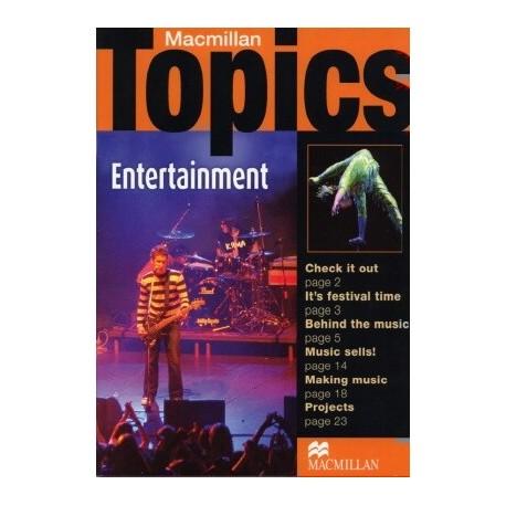 Macmillan Topics: Entertainment Macmillan Publishers 9781405094979