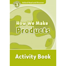 Discover! 3 How We Make Products Activity Book