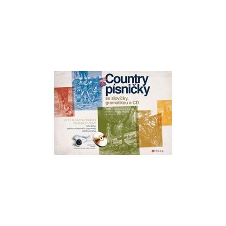 Country písničky se slovíčky a gramatikou + CD CP Books 9788025130537