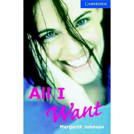Cambridge Readers: All I Want + Audio download Cambridge University Press 9780521794541