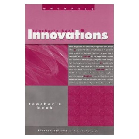 Innovation Advanced Teacher Book