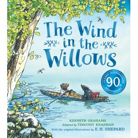 Wind in the Willows anniversary gift picture book